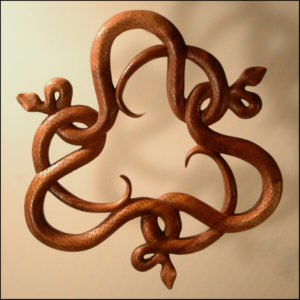 Celtic Snake Ornament